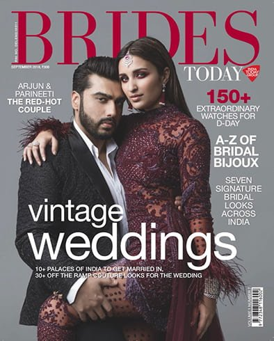 Parineeti Chopra on Brides Today India September 2018