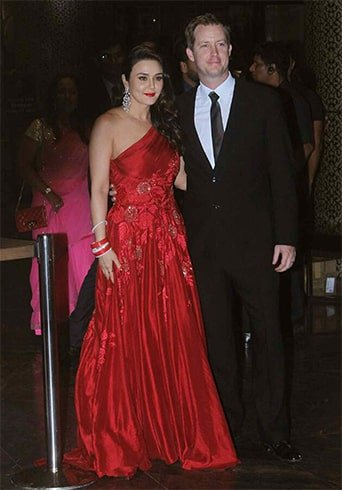 Preity Zinta Reception