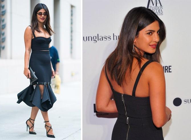 Priyanka Chopra Dion Lee Dress