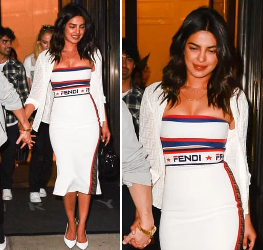 Priyanka Chopra Fendi Dress