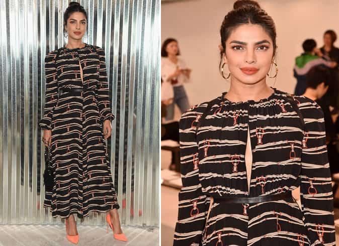 Priyanka Chopra Longchamp Dress