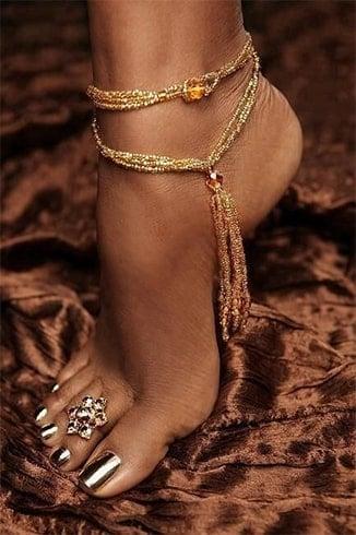 Rajasthan Wedding Style Toe Rings