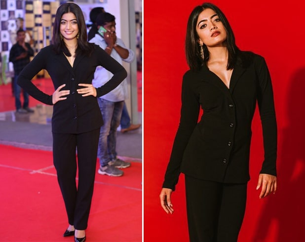Rashmika Mandanna at Gaana Mirchi Music Awards 2018