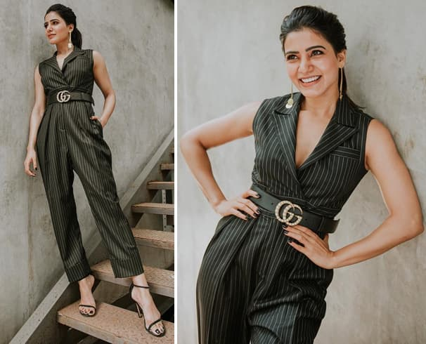 Samantha in Jumpsuit