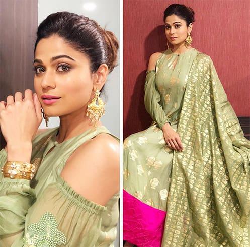 Shamita Shetty Masaba Outfit