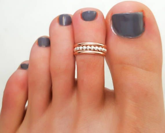 Simple Strand Toe Rings
