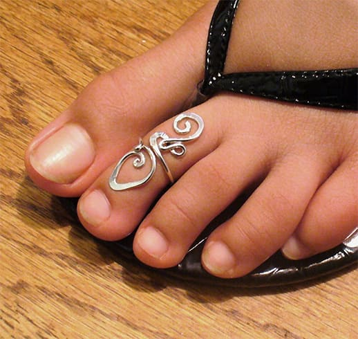 Sterling Toe Rings