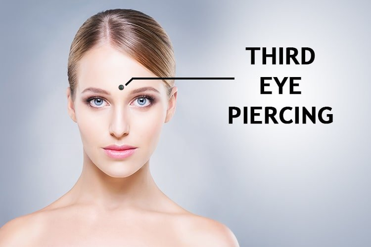 Third Eye Piercing