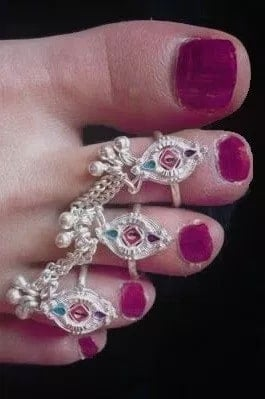 Three Finger Toe Rings