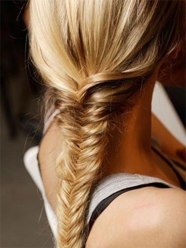 Tight Fishtail Hair