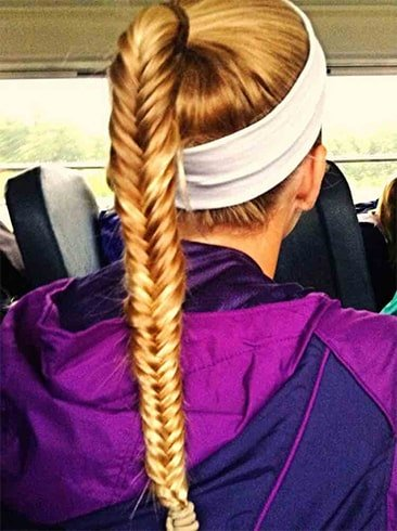 Sporty Hair Styles For Long Hair