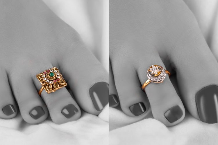Toe Rings Designs