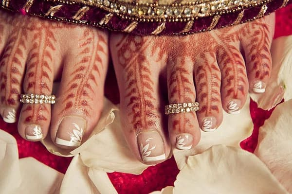 Traditional South Indian Toe Rings