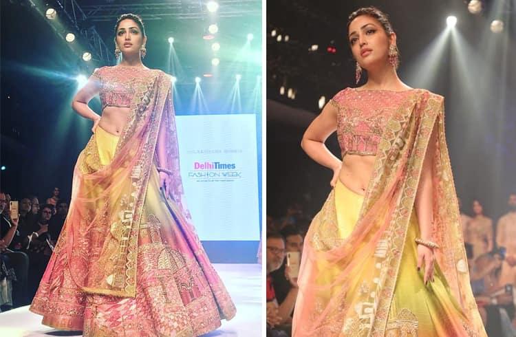 Yami Gautam Delhi Times Fashion Week 2018