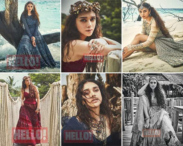 Aditi Rao Hydari On Hello Magazine Shoot