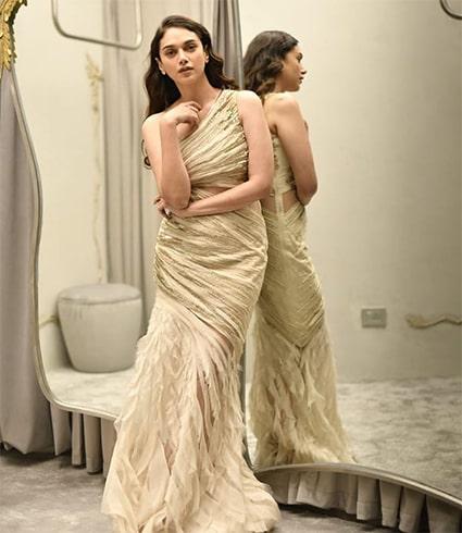 Aditi Rao Hydari in Gaurav Gupta Gown