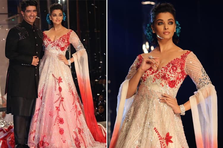 Aishwarya Rai for Manish Malhotra At IFW 2018