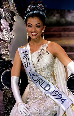 Aishwarya Rai Miss India World 1994