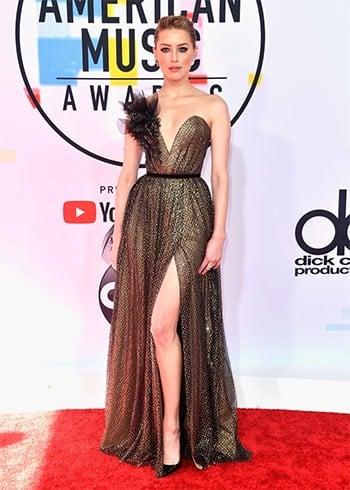 Amber Heard AMA 2018