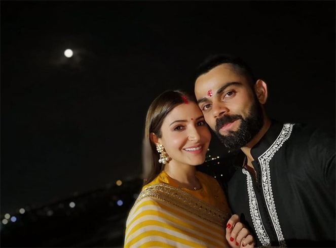 Anushka Sharma Celebrated Karwa Chauth