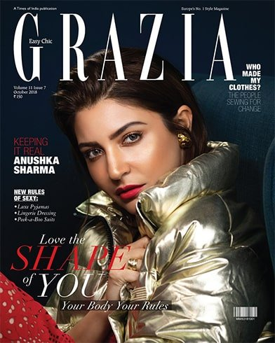 Anushka Sharma On Grazia India Cover