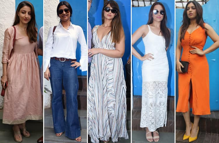 Celebrities at Neha Dhupia Baby Shower
