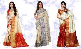 Bengali Sarees for Durga Puja