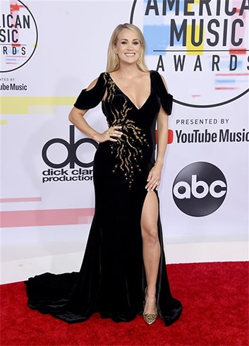 Carrie Underwood at AMA 2018