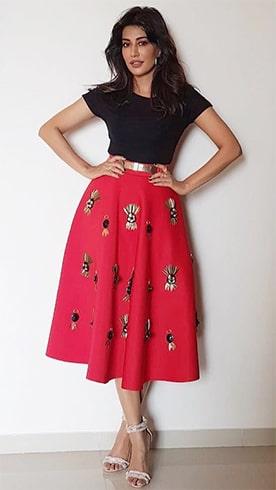 Chitrangda in Skirt
