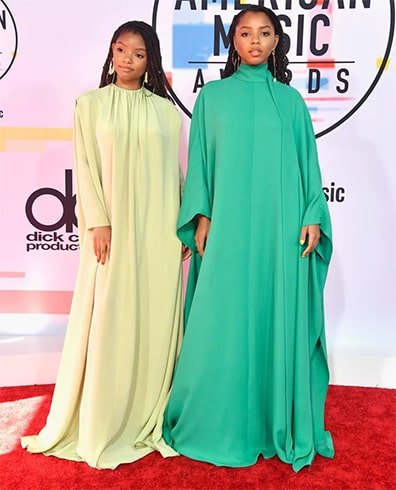 Chloe x Halle at AMA 2018