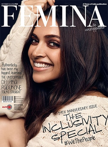 Deepika Padukone on Femina October 2018
