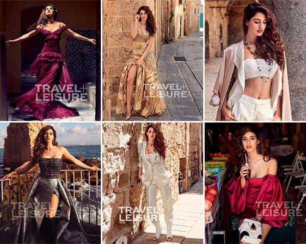 Disha Patani Travel and Leisure India Photoshoot