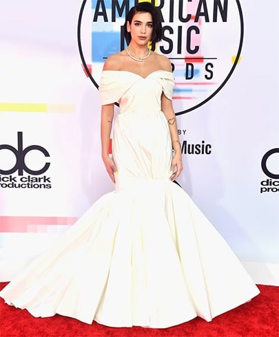 Dua Lipa at AMA 2018