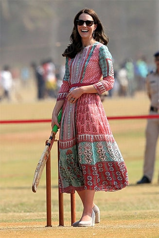 Kate Middleton in Anita Dongre dress