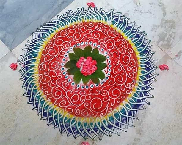 How To Make Easy Rangoli
