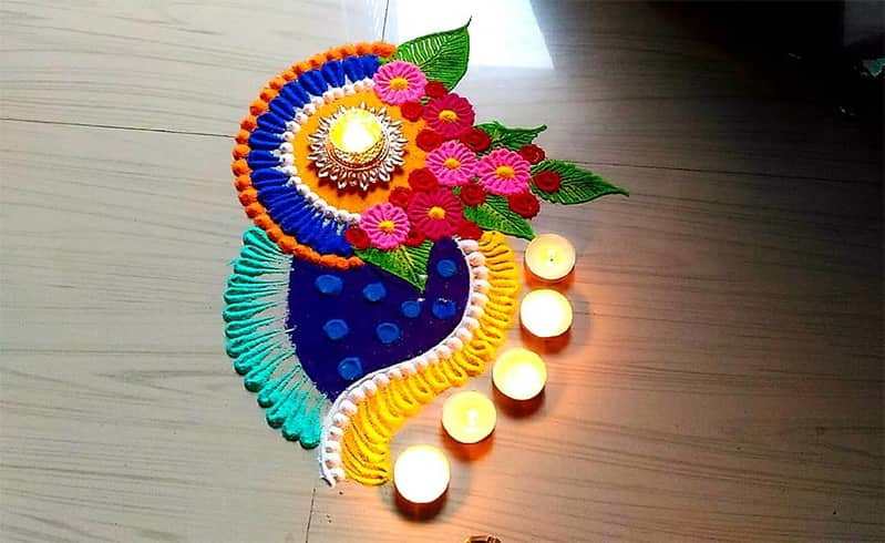 How To Make Rangoli