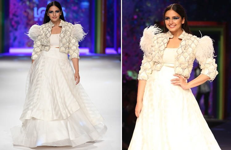Huma Qureshi at LMIFW 2019