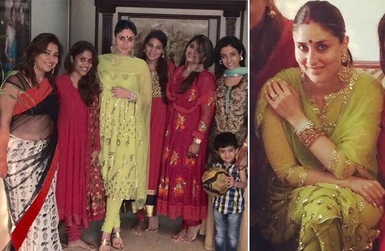 Kareena Kapoor Celebrated Karwa Chauth