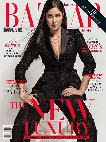 Katrina Kaif on Harpers Bazaar India