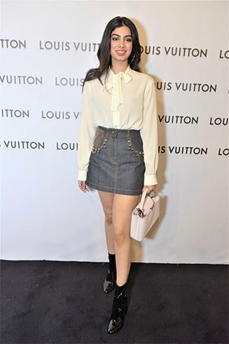 Khushi Kapoor Louis Vuitton Store Launch