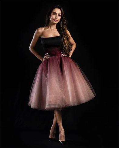 Malaika Arora Poem gown