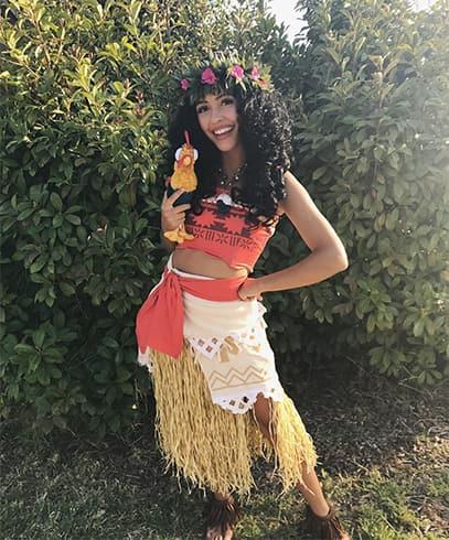 Moana Character Costumes