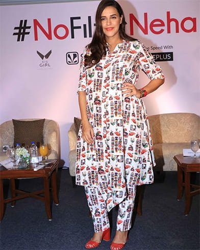 Neha Dhupia No Filter Neha season 3 Launch
