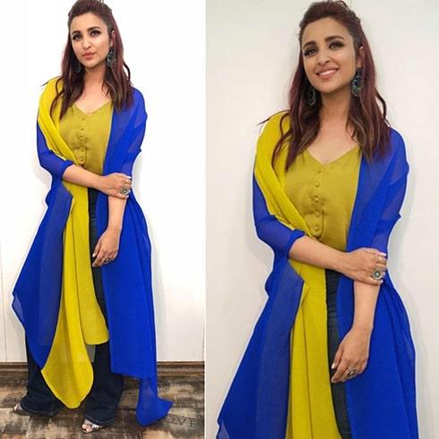 Parineeti Chopra Payal Khandwala Dress