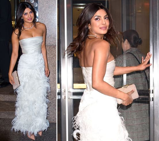 Priyanka Chopra in Marchesa Gown