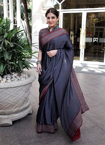 Raveena Tandon in Saree