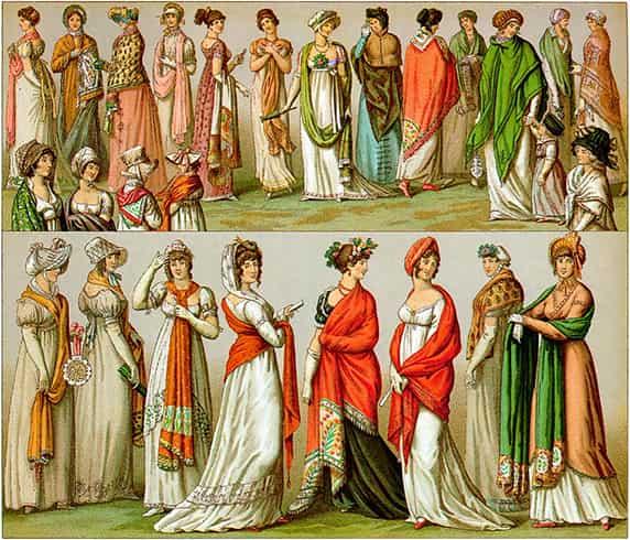 Shawls History