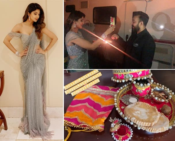 Shilpa Shetty Celebrated Karwa Chauth