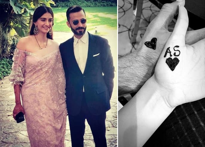 Sonam Kapoor and Anand Ahuja Celebrated Karwa Chauth