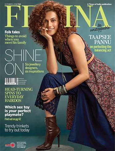 Taapsee Pannu On Femina Magazine Cover